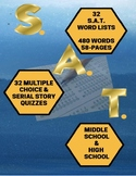 Vocabulary: SAT Word Lists and Quizzes (480 words)