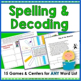 Vocabulary Work for Literacy Centers: Activities for Any W