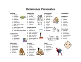Vocabulary from Triangulo Chapter 9 - Relaciones Personales