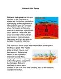 Volcanic Hot Spots Common Core Activity