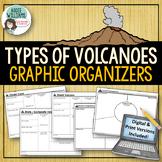 Volcanoes - Graphic Organizers