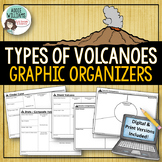 Volcanoes - Graphic Organizer for Geography / Earth Science