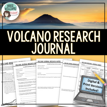 Volcano Research Journal / Volcano Project