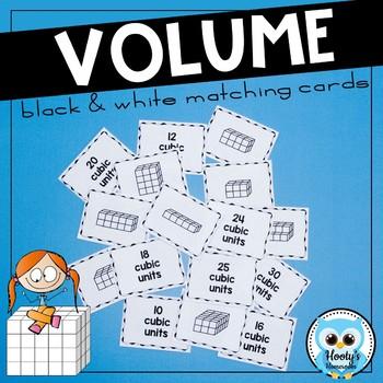 Volume Match - Black & White Cards