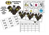Vowel Bat Sorting Activity