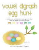 Vowel Digraph Egg Hunt