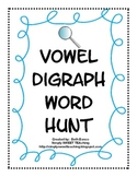 Vowel Digraph Word Hunt