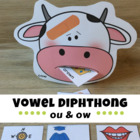 Vowel Digraphs ou and ow - OUCH!