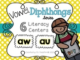 Vowel Diphthongs [au] [aw] Literacy Centers