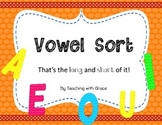 Vowel Sort: That's the Long and Short of It!