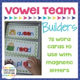 Vowel Team Word Building Mats