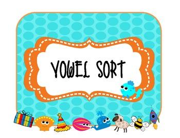 Vowel sorts!