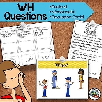 WH Questions Activity Pack / WH Questions