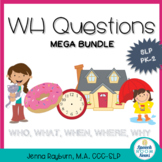 WH Questions Mega Bundle: Preschool Speech and Language Therapy