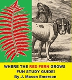 WHERE THE RED FERN GROWS FUN STUDY GUIDE! (ALSO CCSS, TEST
