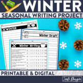 WINTER WRITING PROJECT {aligned with Common Core K-4} bull