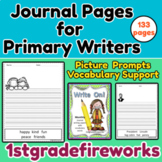 WRITE ON!  12  Months of Journal Wrting Papers