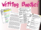 WRITING BUNDLE - Outlines, Student Ex. Outlines/Essays, Pe