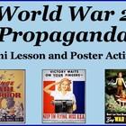 WWII Propaganda Mini Lesson and Poster Activity