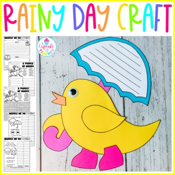Waddle We Do if it Rains? {Craftivities & Printable}s