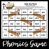 Walk the Plank--Consonant Blends and Digraphs Games