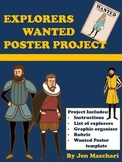 Wanted Poster Project  - New World Explorers