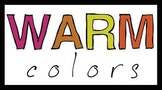 Warm Colors Sign