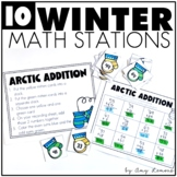 Warm Me Up!  Winter Math Stations