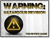 Warning: Hazardous Revision - Fun Test Prep Review Game