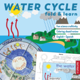 Water cycle fold and learn