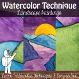 Watercolor Technique Landscape
