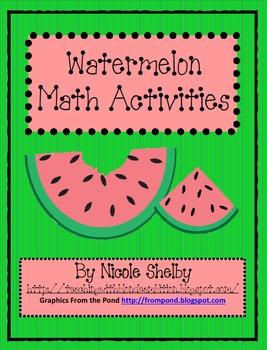 Watermelon Math Activities