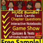 Watsons Go to Birmingham Free Quiz Chapters 1 - 3 Novel Un