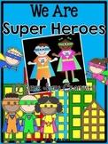 We Are Super Heroes {A Super Hero Craftivity}