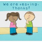 We Are Testing.  Thanks!