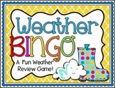 Weather BINGO Review Game!