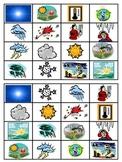 Weather Bingo Boards