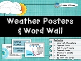 Weather - Posters & Word Wall