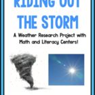 Weather!  Riding Out The Storm!  A Research And Writing Project!