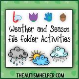 Weather & Season File Folder Activities