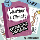 Weather and Climate Interactive Notebook BUNDLE by Science