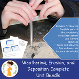 Weathering, Erosion, and Deposition Surface Processes Unit Pack