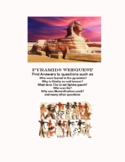 WebQuest-The Pyramids of Egypt