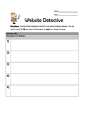 Website Detective