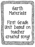 Week long 1st grade Earth Material Unit Based on Teacher c