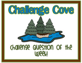 Weekly Challenge Questions for Intermediate Grades *Common