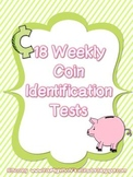 Weekly Coin Identification Tests (18 tests)