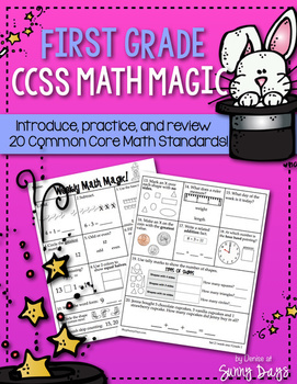 First Grade CCSS Math Magic {Set Two}