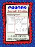 Weekly Social Studies Review