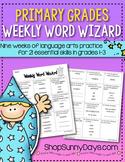 Weekly Word Wizard - Set One